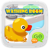 GOSMS WashingRoom Pop ThemeEX