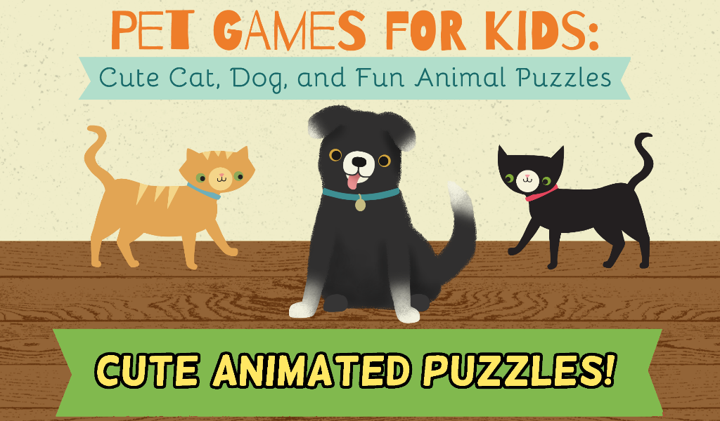Pet Games for Kids: Puzzles- screenshot