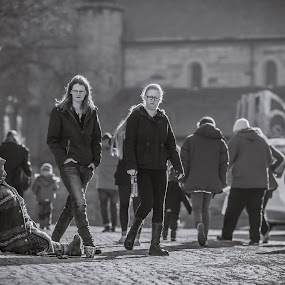 | Who Bother | by Photo Jovan - Black & White Street & Candid ( beggar, street,  )