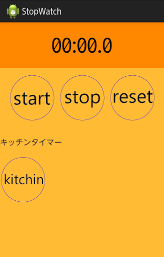 StopWatch KitchenTimer