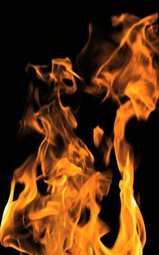 極端な炎の爆発