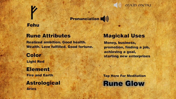 Rune Glow - screenshot