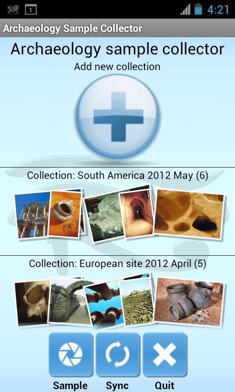Archaeology Sample Collector - screenshot