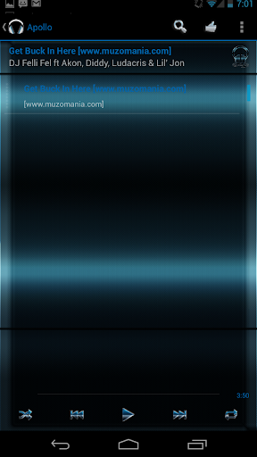 Apollo Midnight Blue Theme for PC