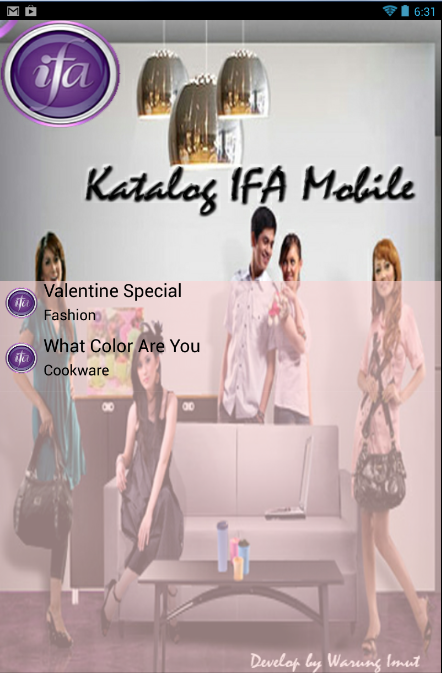 Katalog IFA Indonesia - screenshot