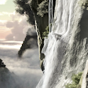3D Waterfall Animated LWP PRO