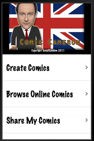 Comic Cameron - screenshot