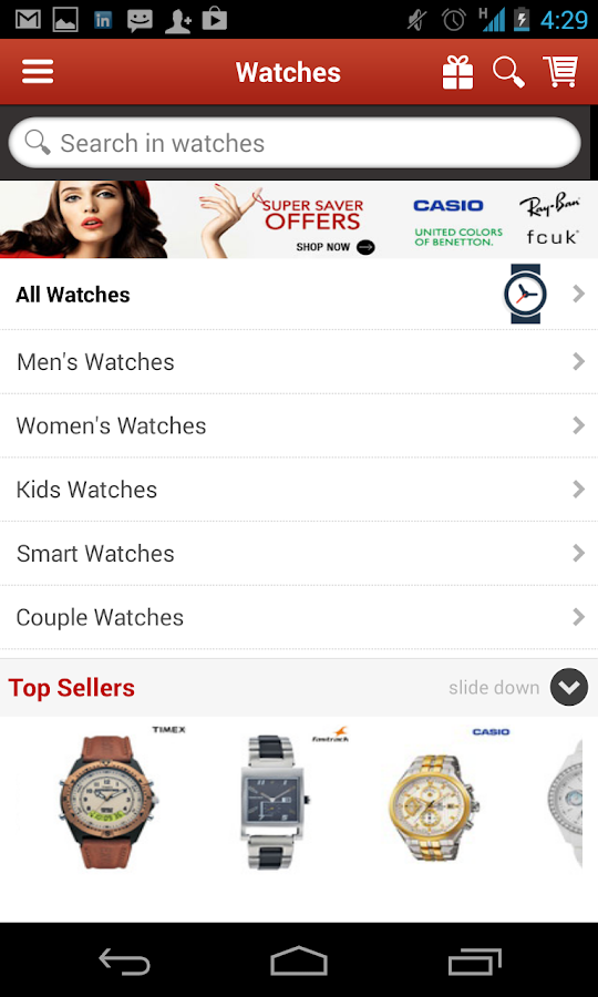 Snapdeal online shopping mobile for Shop on line mobili