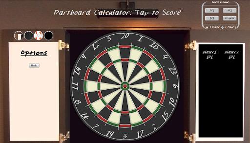 Dart Board Calc : Tap 2 Score
