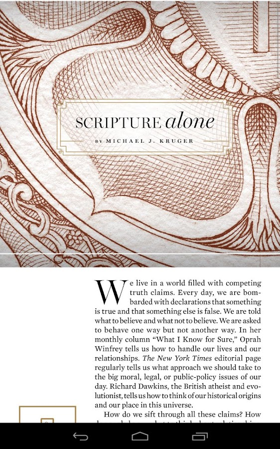 Tabletalk Magazine - screenshot
