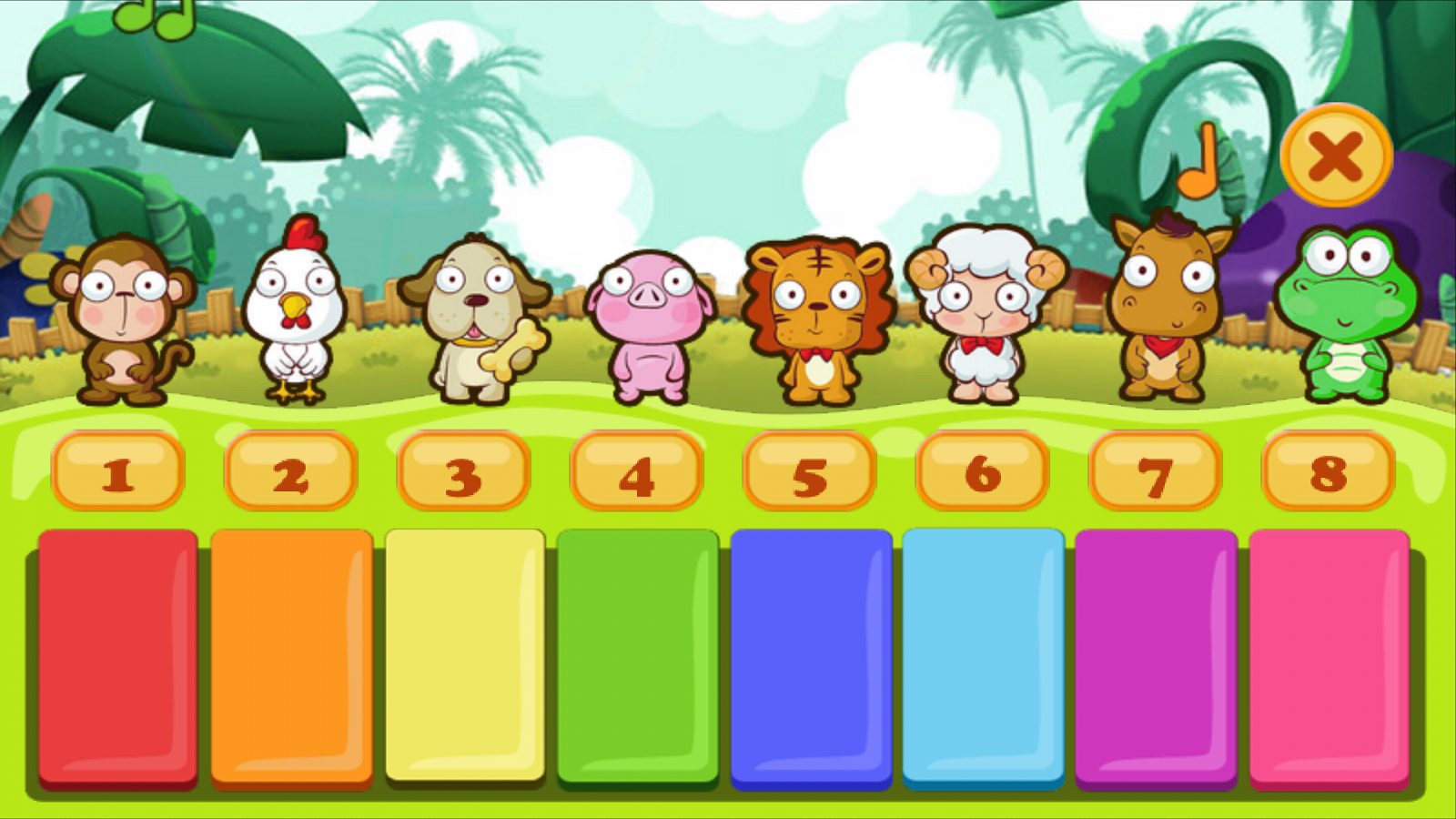Piano Kids Animals- screenshot