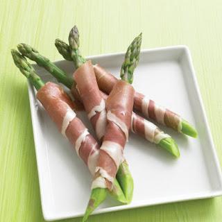 Prosciutto-Wrapped Asparagus.