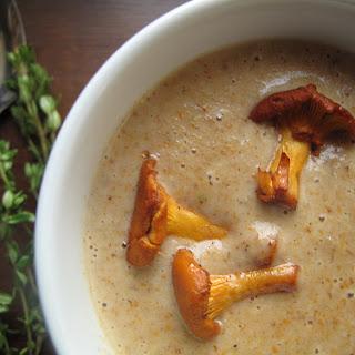Roasted Wild Mushroom Soup.