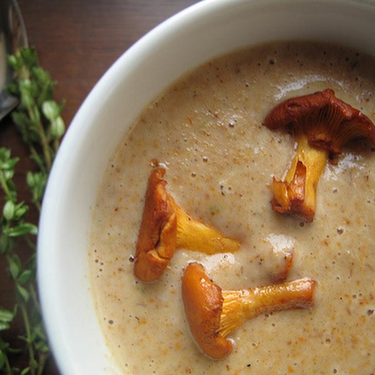 Roasted Wild Mushroom Soup