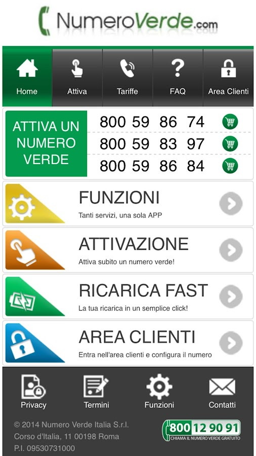 Numero Verde- screenshot