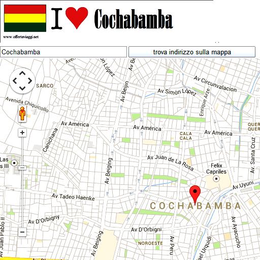 Cochabamba maps