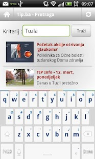 Tip.ba android- screenshot thumbnail