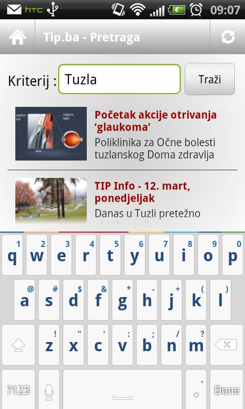 Tip.ba android - screenshot