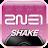 2NE1 SHAKE logo