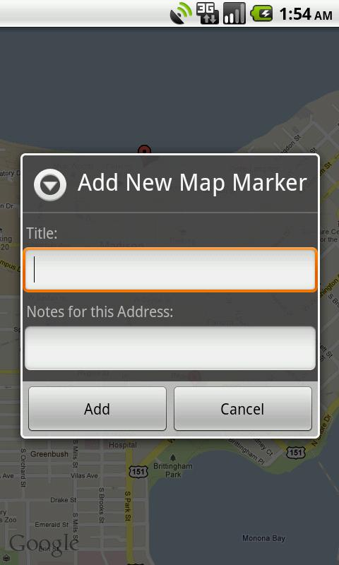 Location Saver Free- screenshot