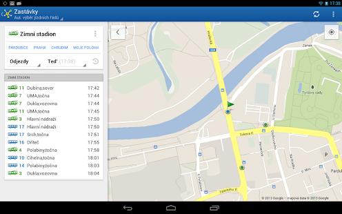 Offline Jízdní řády CG Transit Screenshot 33