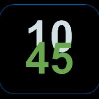 Minimal Clock Widget 1.5