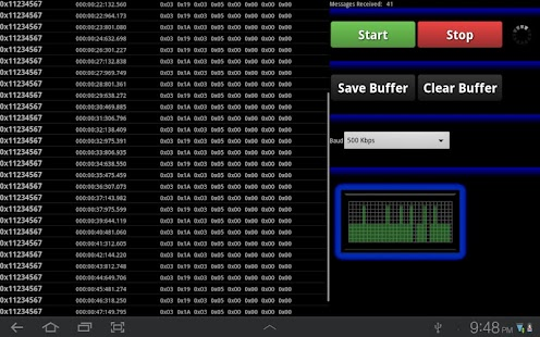 Can Bus Analyzer- screenshot thumbnail