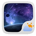 UNIVERSE THEME GO WEATHER EX icon