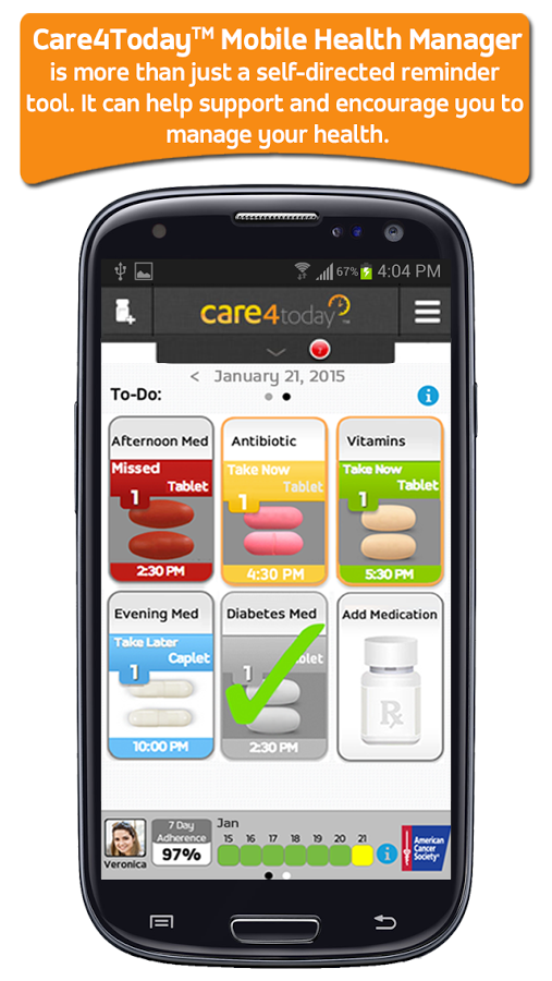 Care4Today® MHM- screenshot