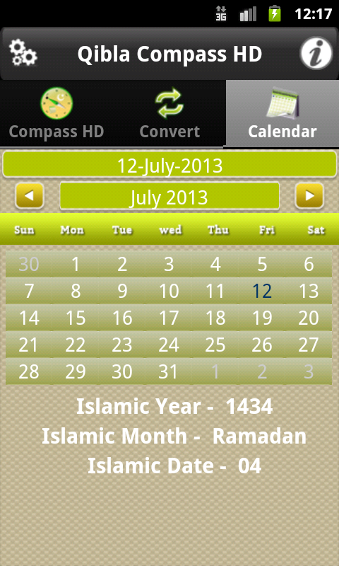 Qibla Compass HD - screenshot
