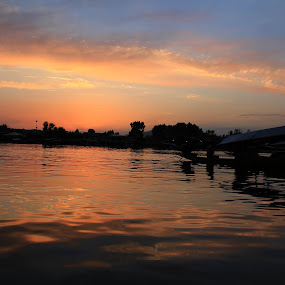 Dal Lake, Kashmir by Tarun Bhatnagar - Landscapes Sunsets & Sunrises