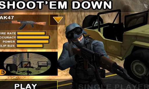 Shoot `em Down:Ace of Spades