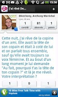 Screenshot of J'ai Rêvé De...Interprétations