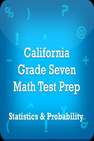 CA 7th Statistics &Probability - screenshot