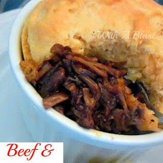 Beef & Biscuit Pots