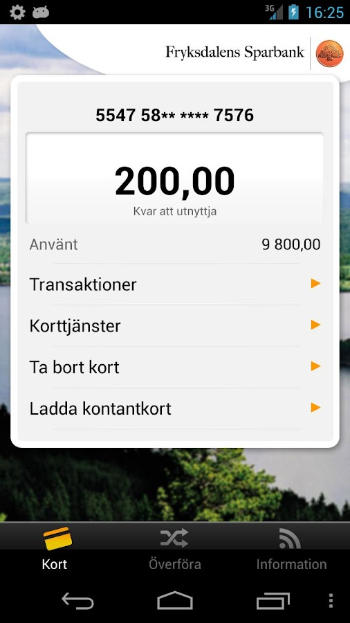 Fryksdalens Sparbank - screenshot