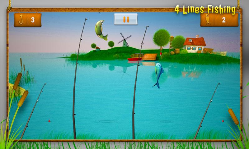 4-lines fishing- screenshot