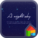 Night Sky Dodol Luncher theme icon