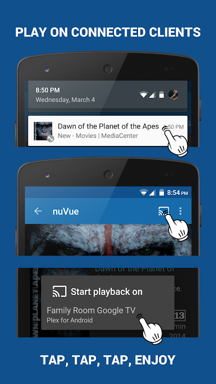Download nuVue for Plex & Emby APK latest version app for android devices