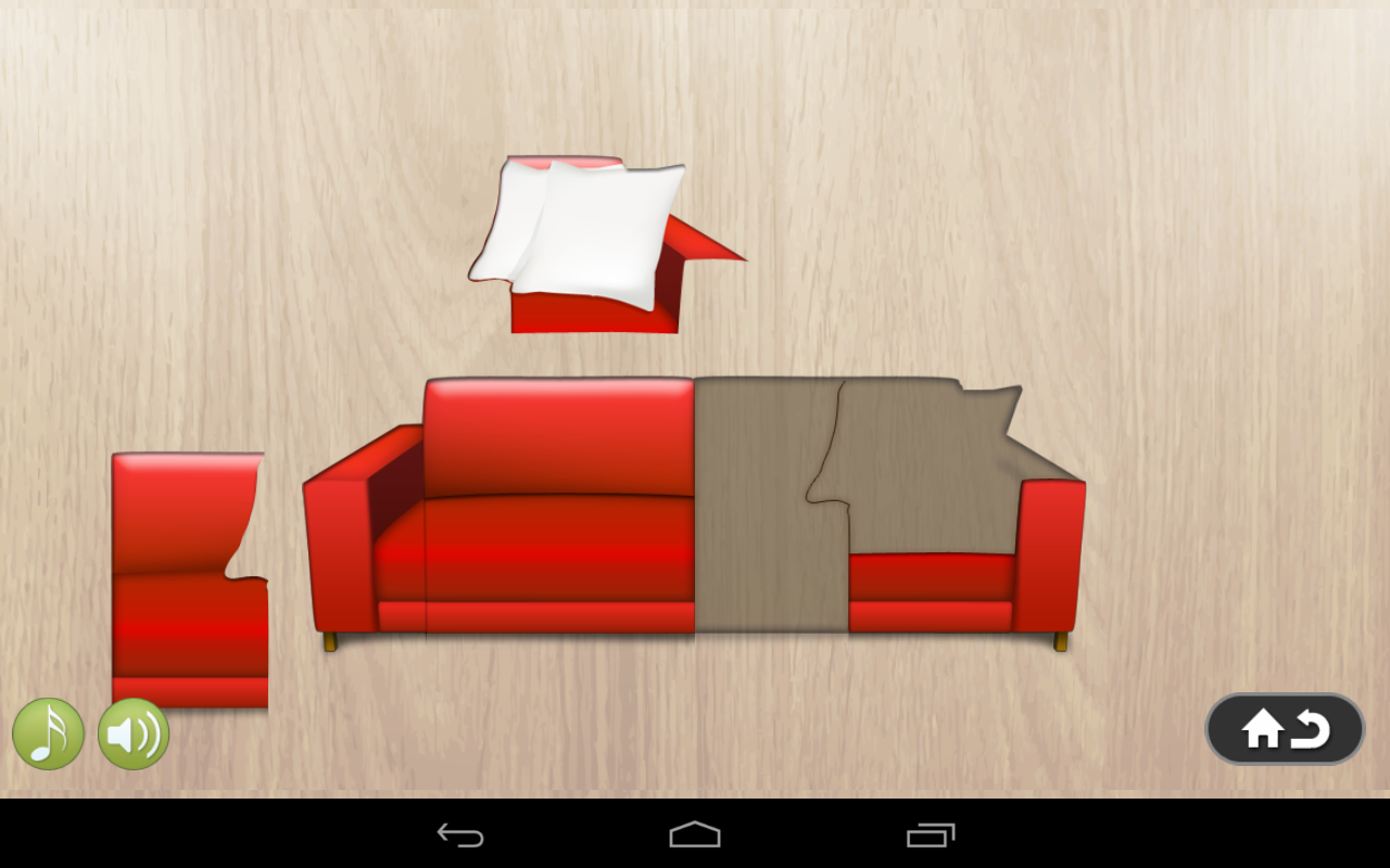 Furniture puzzle for kids android apps on google play Furniture app
