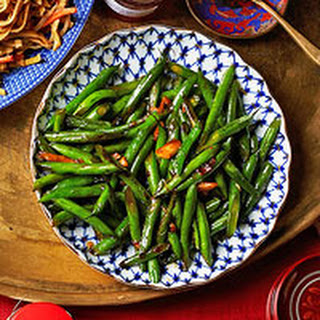 Stir-Fried Green Beans with Garlic & Oyster Sauce