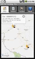 Screenshot of SMS Car Tracking Free