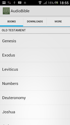 Audio Bible: God's Word Spoken - screenshot