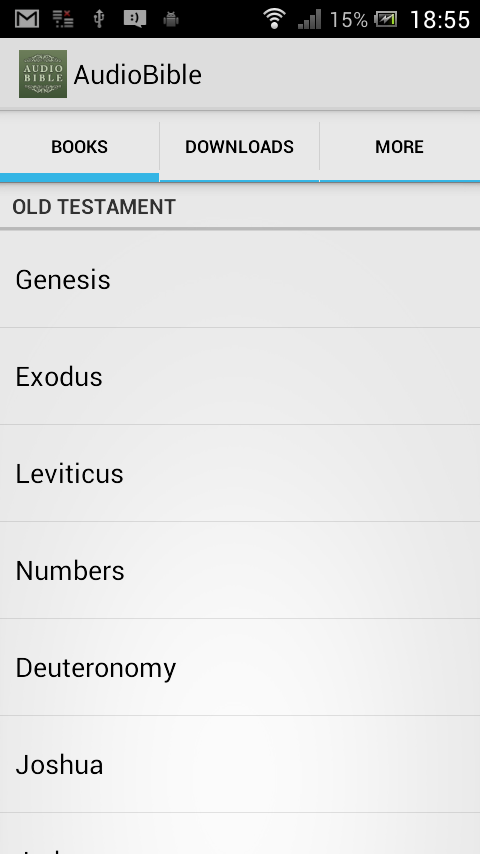 Audio Bible: God's Word Spoken- screenshot