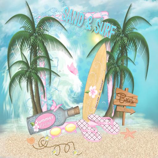玩免費個人化APP|下載Sand & Surf GO THEME app不用錢|硬是要APP