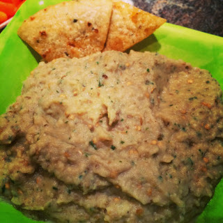 Babaganoush Dip (Roasted Eggplant)