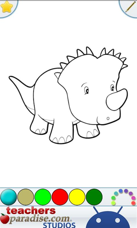 Dinosaurs Coloring Book- screenshot