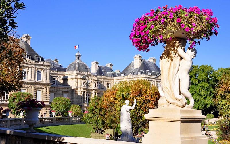 Luxembourg Gardens in Paris.