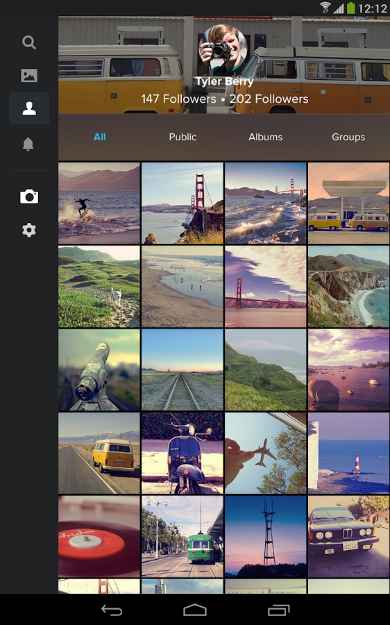 Flickr - screenshot