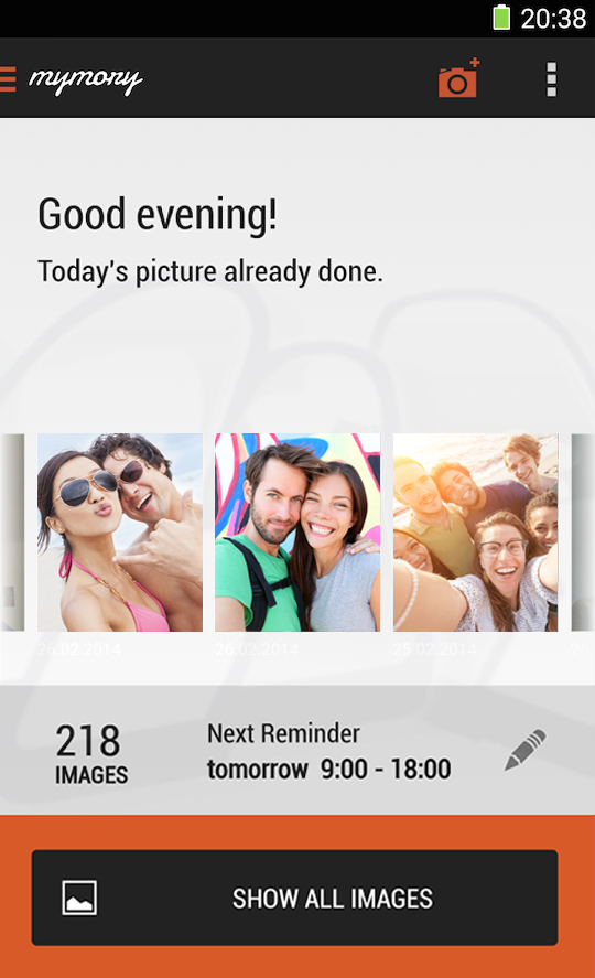 MyMory - Remember Your Life- screenshot